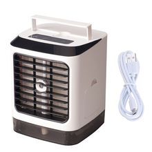 Mini Electric Air Cooler for Room Portable Air Conditioner Fan Dormitory Office USB Small Cooling Fan цена