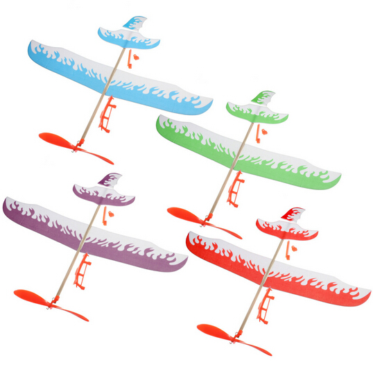 muddy Puddles Airplane Plane Glider DIY Assembly Model
