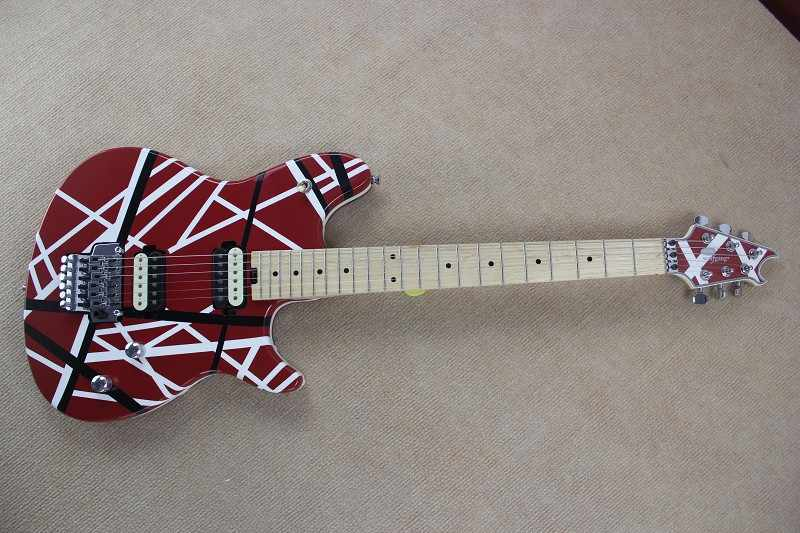 4414ca6db85 Brand new arrival guitars kramer 5150 RED and white EVH series ARI tremolo  Electric guitar free