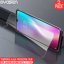 2Pcs/lot For Xiaomi Redmi 7 Note Pro Tempered Glass Screen Protector 9H 0.26MM Explosion-proof Anti Blue Light Protective Film