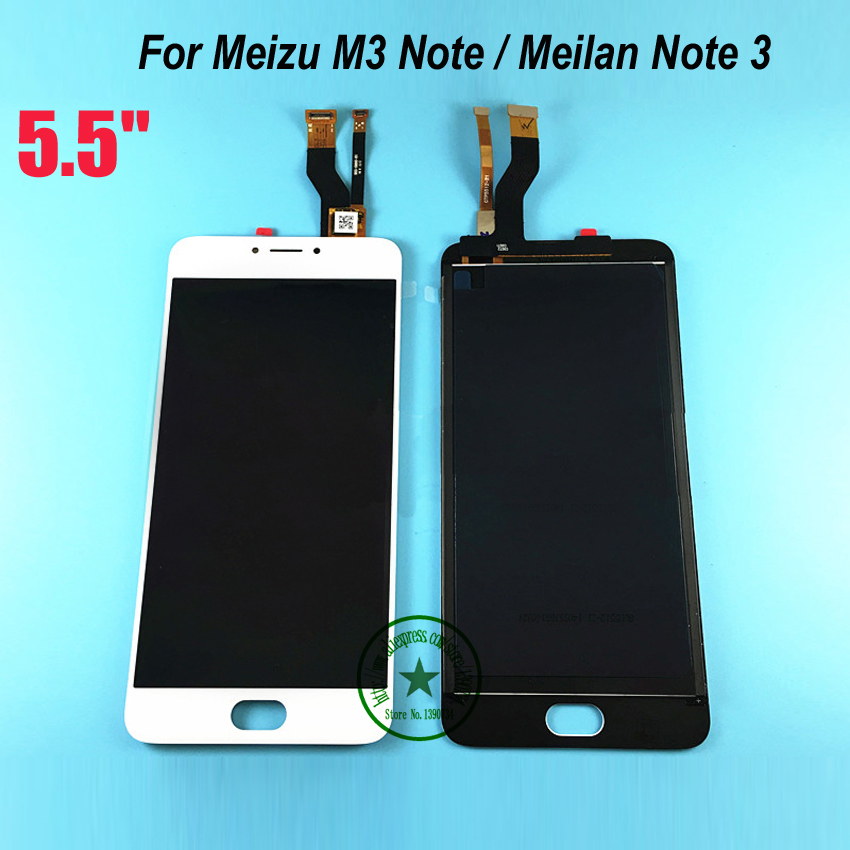 100% Warranty LCD Display+Touch Screen Digitizer Assembly For Meizu m3 note / Meilan note 3 ( not for L681H ) Cell Repair Part high quality 5 5inch for meizu m5 note 5 lcd display screen touch screen digitizer glass panel meilan note5 replacement assembly