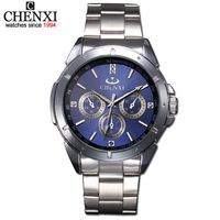 AliExpress Hot Selling CHENXI Brand New Fashion Wristwatches Male Brand Watch Quartz Watch For Men TOP
