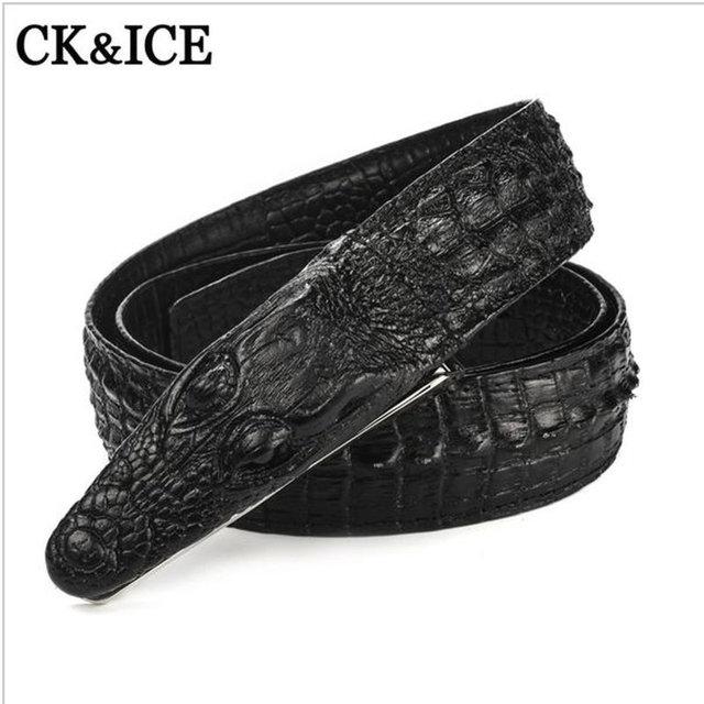 Mens Belts Luxury Genuine leather Designer Belt High Quality Ceinture Homme Cinto Masculino Luxo Crocodile Cinturones Hombre
