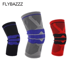 FLYBAZZZ New Top Elastic Knee Support Bracket Kneepad Adjustable Patella Pad Basketball Safety Professional Protective Tape