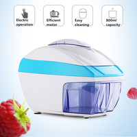 Commercial Ice Crusher Automatic Snow Ice Tea Smoothie Picadora De Hielo Household Crushed Ice Machine Eletric