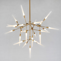 New Modern Nordic LED Chandelier For Living Room Dinning Room Office Haning Lamp Lustre Villa Lamps