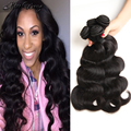 Malaysian Body Wave 4 Bundles 10A Unprocessed Virgin Human Hair Bundles Malaysian Virgin Hair Body Wave Human Hair Extension