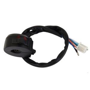 """Image 3 - 1 Uds impermeable de aluminio de la motocicleta interruptor control manillar para luz de emergencia Luz de señal de giro compatible con el interruptor 7/8 """"manillar"""
