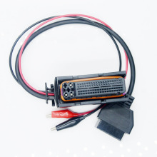 Работа 81PIN ЭБУ OBD F+ ЦАП кабель 81 PIN OBD2 мама к DC кабель адаптер