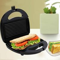 Electric Sandwich Maker Striped Plate Toaster Kitchen Breakfast Bread Machine #01
