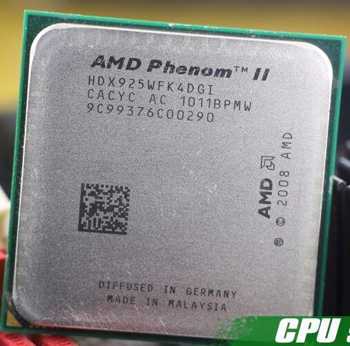Livraison gratuite AMD Phenom II X4 925 CPU 2.8 GHz 6 MB L3 Cache Socket AM3 PGA938 De Bureau Quad core morceaux épars processeur