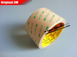 95mm * 55 M * 0.17mm, 3 M 300LSE Super Sterke Twee Zijden Zelfklevende Transparante Tape voor Glas Screen Display