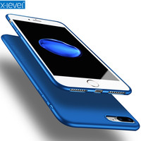 X Level Ultra Thin Tpu Phone Case For Iphone 7 Matte Silky 5 5 Inch Back