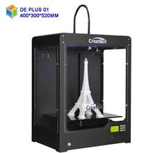 Free shipping CreatBot 3D Printer DE PLUS single extruder available Large size 400*300*520 mm 3d metal printer pvc printer China