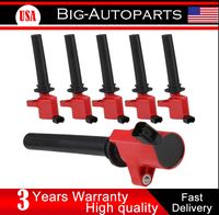 6PCS HIGH PERFORMANCE IGNITION COIL FOR FORD Escape MAZDA Tribute MERCURY DG500