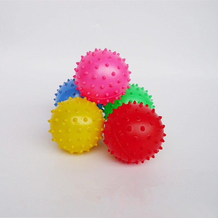 12cm Children Massage Ball Infants Inflatable Thorn Ball Grab Wave Wave Puzzle Toys