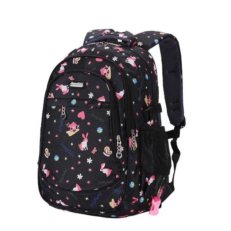 children school bags girls printing backpack princess orthopedic backpack schoolbags primary school backpacks kids sac enfant