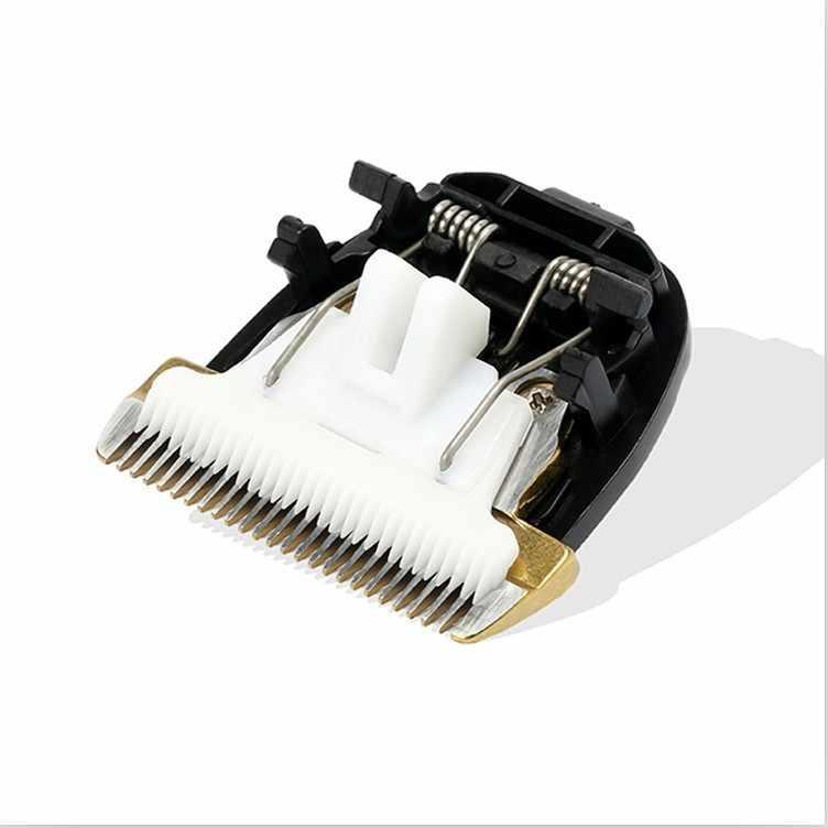 プロフェッショナルペット犬猫バリカン刃カット頭髪トリマーステンレス鋼セラミックス毛づくろい刃カットヘッド