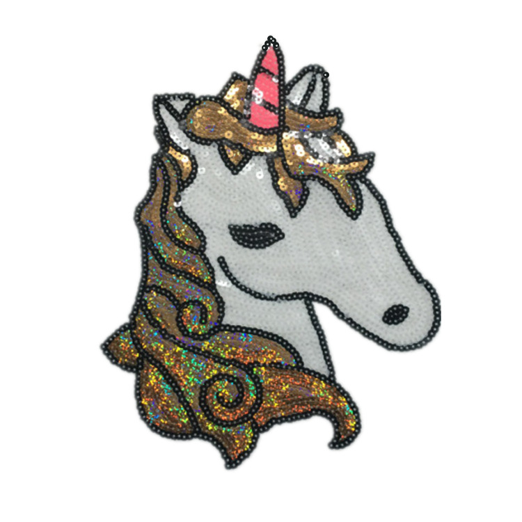 2019 New Fashion DIY Applique Embroidery Applique Costume Decoration Dimensional Bead Piece Sequins