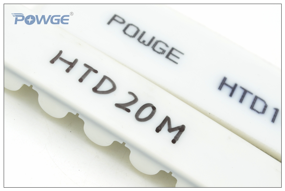 POWGE HTD20M Synchronous belt 150HTD4600-20M Width 150mm PU Steel Core 4600 20M 150 Ttiming belt Seamless Connection Closed-Loop 15mm width t5 steel core endless timing belt closed loop pu belt