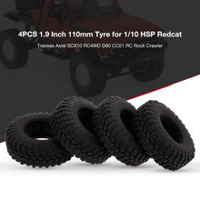 4 STUKS RC Autoband 1.9 Inch 110mm voor 1/10 HSP Redcat Traxxas Axiale SCX10 RC4WD D90 CC01 RC rock Crawler(China)