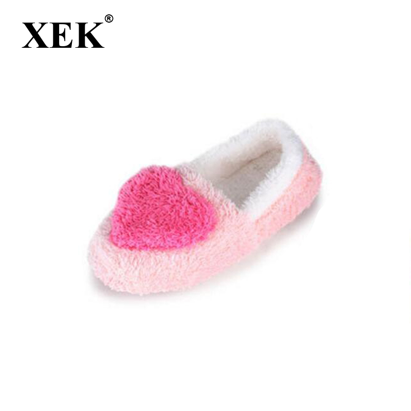 HUANQIU Cute Love Women Slippers Indoor Home Floor Ball Slippers Winter Warm Shoes Ladies Animaux Pantufas For Bedroom ST218 4pcs lot big stainless steel anal dildo anal plug pull beads butt plug erotic toys for gau anal penis adult sex toys for women