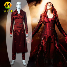 Popular X-men The Phoenix Cosplay Costume Beautiful Red Costumes For Sale Halloween Christmas Party Clothes For Women