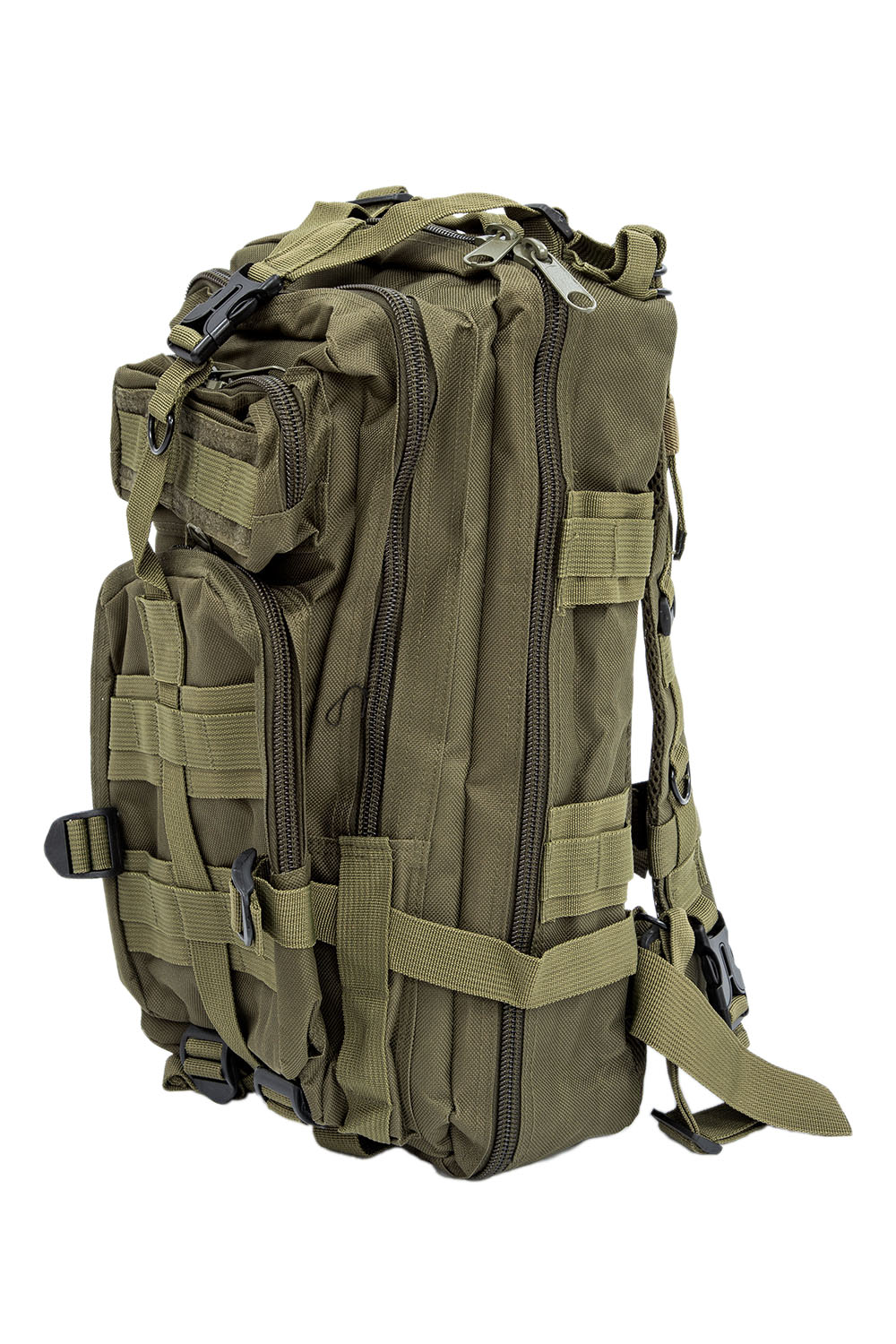 Men Outdoor Backpack - Men Outdoor Backpack Military Tactical Backpack Camping Hiking Hunting Trekking Backpack (army Green)