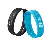 Neue Ankunft A6 smartband mit computer und mobile app schrittzähler smart armband schlaf-monitor fitness tracker band smartwatch