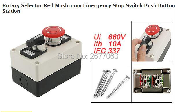 Rotary Selector Red Mushroom Emergency Stop Switch Push Button Station телевизор led 65 samsung qe65q7camux серебристый 3840x2160 wi fi smart tv rs 232c