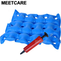 Medical Home Seat Cushion Inflatable Seat Cushion Wheelchair Square Porous Anti Hemorrhoids Buttocks Massage Bedsore Prevention
