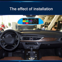 7.0 inch LCD Screen HD 1080P Car Rearview Mirror DVR Car Camera Parking Monitor Navigator Motion Detection 170degree  Wide Angle