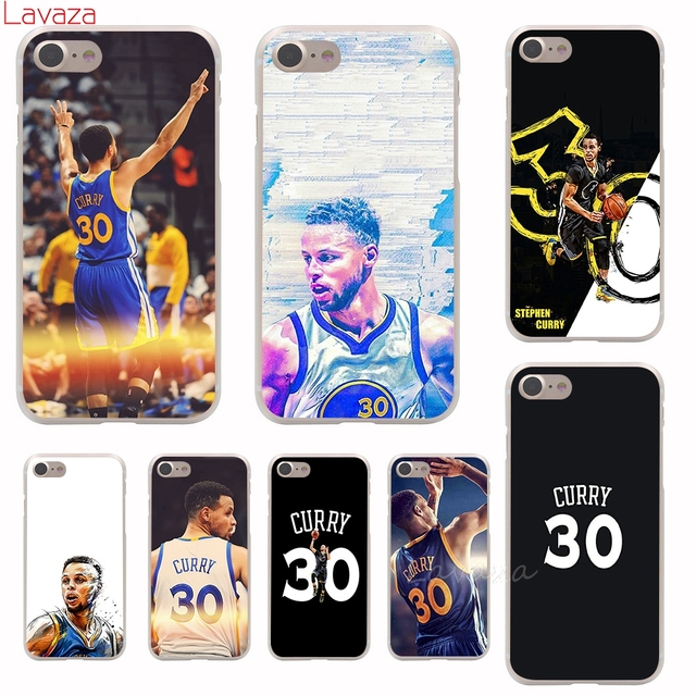 reputable site bbf7d c6267 US $1.99 23% OFF|Lavaza Stephen Curry Hard Phone Case for Apple iPhone 6 6s  7 8 Plus 4 4S 5 5S SE 5C Cover for iPhone XS Max XR Cases-in Half-wrapped  ...