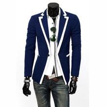 Fashion New Mens Jacket Slim Fit Suits Stylish Casual Coat Jacket