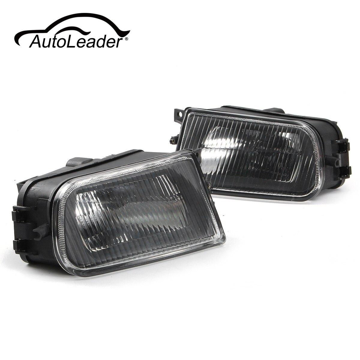 AutoLeader 1 Paire Gauche/Droite Noir Brouillard Lumières Pare-chocs Boîtier De La Lampe pour BMW E39 série 97-00/Z3 97-01 63178360575 63178381977