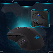 Hot Silent Frosted Ergonomics 2400dpi Adjustment USB 6D Wired Optical Computer Gaming Mouse for Computer PC Laptop for Dota 2