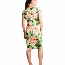 Casual Dresses Plus Size Party Summer Sheath Vestidos 28 Styles Floral Print Women Dress 004-23