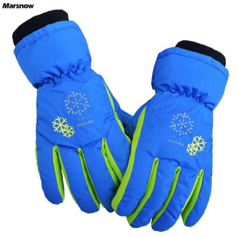 Activity & Gear Strong-Willed 2-5y Kids Winter Warm Gloves Children Boys Girls Snow Snowboard Ski Outdoor Gloves Waterproof Windproof