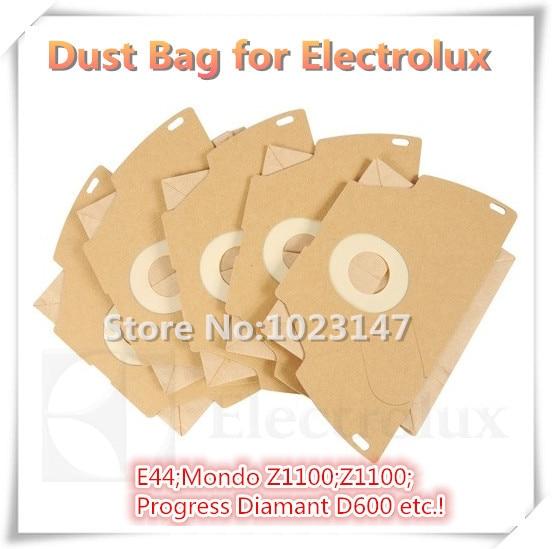 10 Bags/lot ! Cleaners Accessories Bags Dust Bag for Electrolux Vacuum Cleaner E44;Mondo Z1150;Z1118;Progress Diamant D699 etc.! electrolux es 53 4 bags 1mf