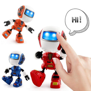 Mini Robot Toy with Sound Ligh