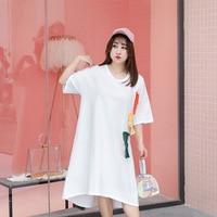 2018 Women Long Dress Hot Sale Summer Russian Style Beach O neck Dresses Large Size Casual Vestidos