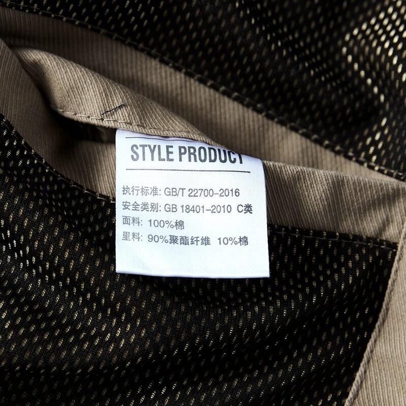 Veste hommes mode Denim veste section mince grande taille simple boutonnage homme survêtement décontracté col rabattu hommes Jackers - 6