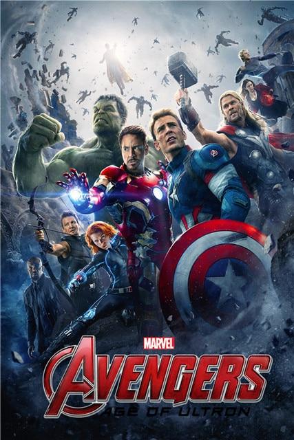 Custom Avengers película edad Decoración para el hogar moderno para ...