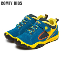 Autumn Winter New Arrivals Child Sneakers Shoes Plush Warm Boys Girls Winter Sneakers Sports Comfy Kids
