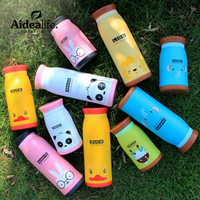 Cartoon Cartoon Stainless Steel Cup Cup Of Children S Creative Gifts Customized Two Generation Adorable Vacuum