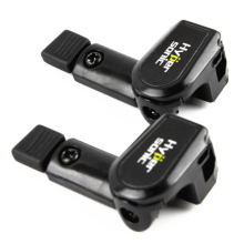 2 шт. Универсальный Черный Автомобильный Стеклоочиститель стенд для левой руки автомобиля использование Hp-6406 автомобильные аксессуары