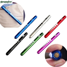 DC 1 Hot Selling Drop Shipping  Medical First Aid LED Pen Light Flashlight Torch Doctor Nurse EMT Emergency