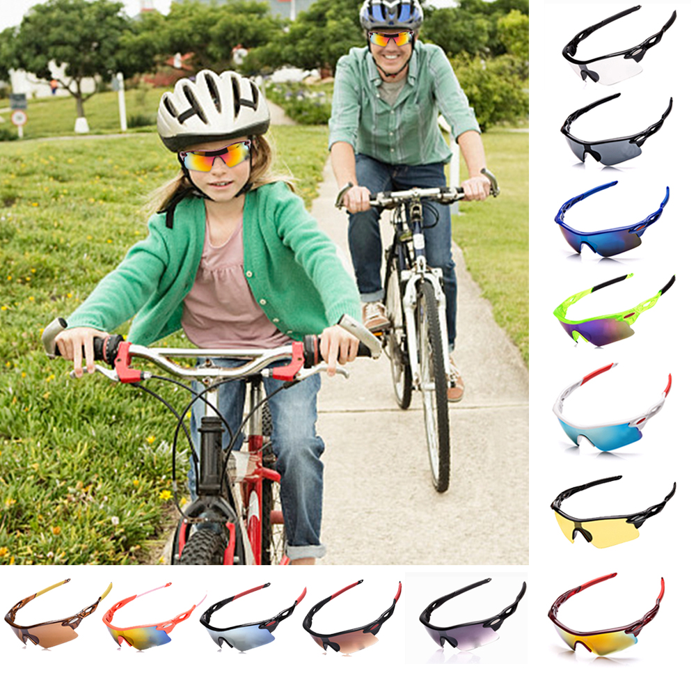Sunglasses Bicycle Eyewear Unisex Outdoor Sunglasses UV400 Bike Cycling Glasses Bicycle Sports Sunglasses Riding Glasses