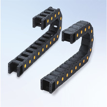 Цепи передачи 25x103 мм 25x25,38, 57,77 мм 1 м открываются с обеих сторон пластиковые тяговые цепи для 3D принтеров