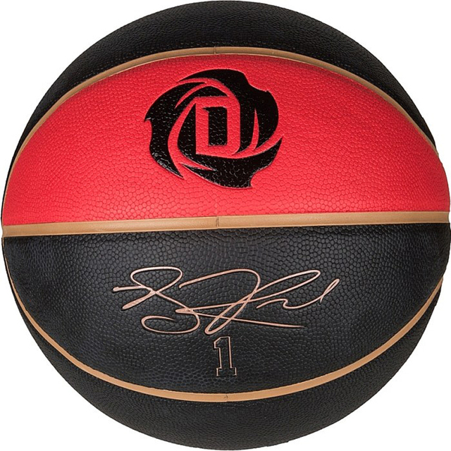 b9bc3bf0219 Genuine 2014 AD high-quality Derrick Rose signature Size7 Basketball ball  indoor outdoor F81937 basketball free shipping